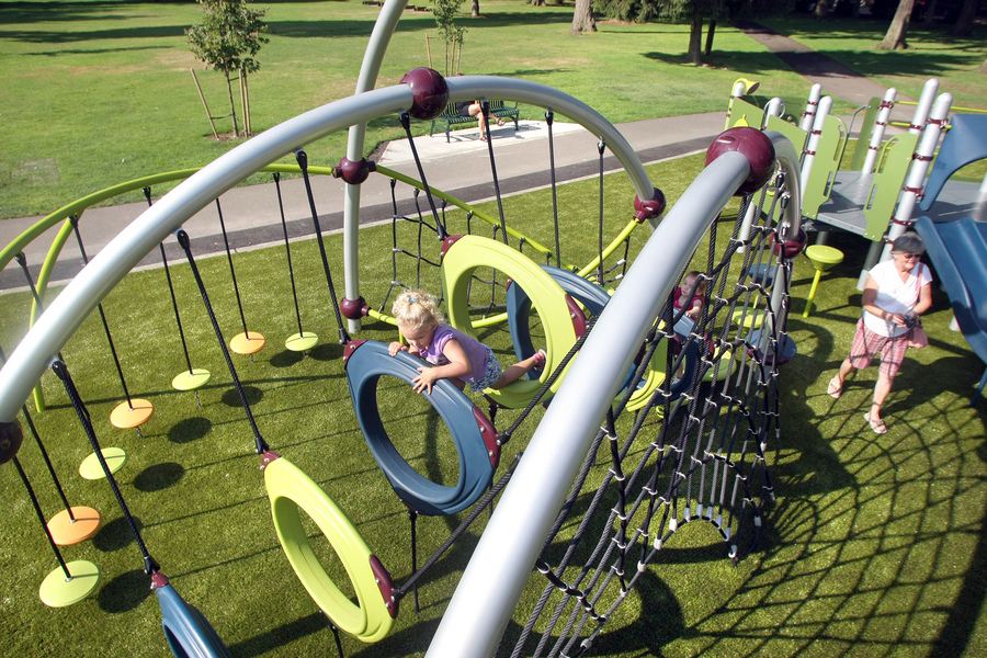 Evergreen Rotary Playground - Inclusive Playground