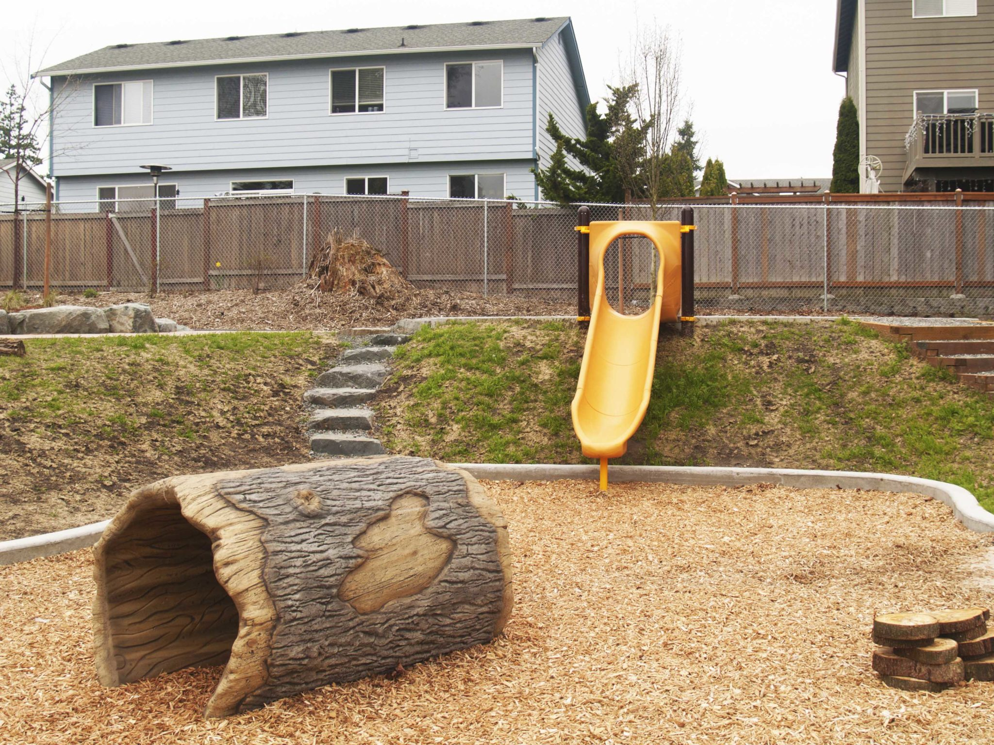 Stadler Ridge Nature Inspired playground