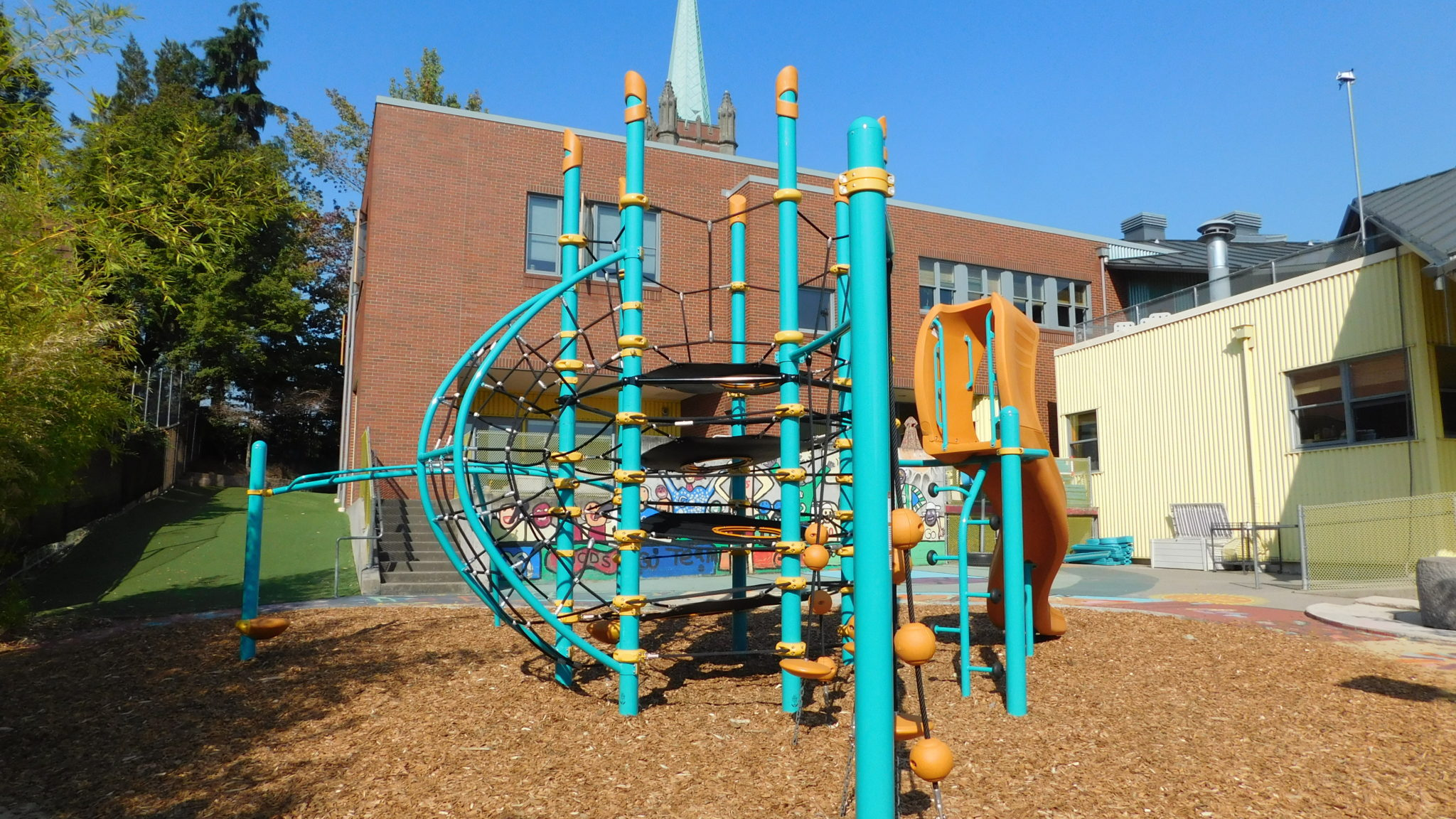 University Child Development School Playground